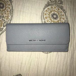 Baby blue Michael Kors wallet